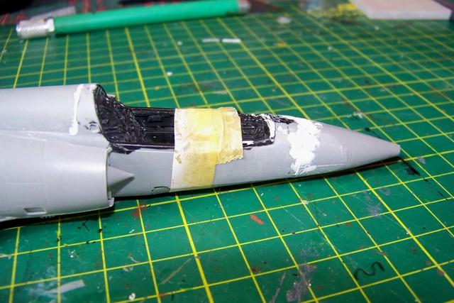 Mirage III EL 1/48 Kinetic (defi au trésorier de l' AMO61) 100_1831
