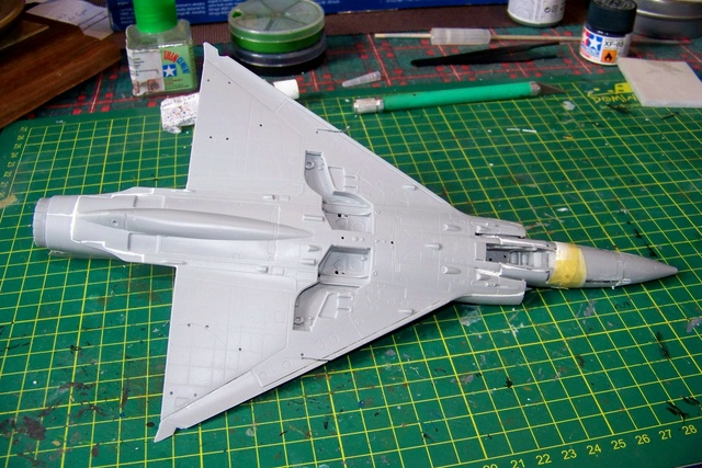 Mirage III EL 1/48 Kinetic (defi au trésorier de l' AMO61) 100_1835