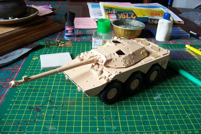 AMX 10 RC ,Direction Bagdad ! (Tiger models 1/35)Fini 1210710