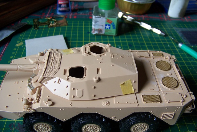 AMX 10 RC ,Direction Bagdad ! (Tiger models 1/35)Fini 1213010