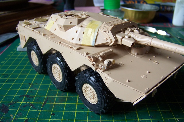 AMX 10 RC ,Direction Bagdad ! (Tiger models 1/35)Fini 1215010