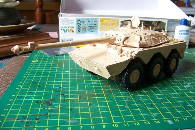 AMX 10 RC ,Direction Bagdad ! (Tiger models 1/35)Fini 1218210