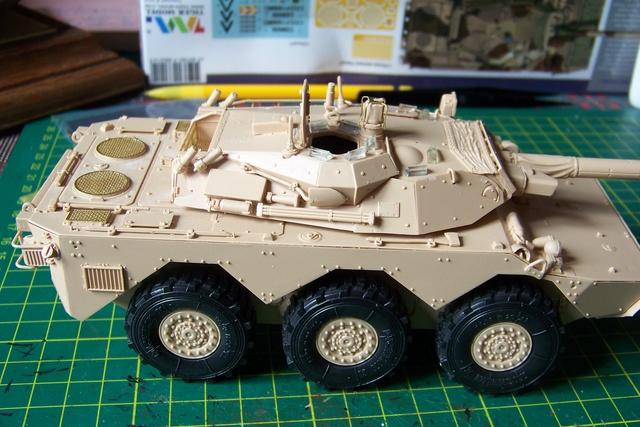 AMX 10 RC ,Direction Bagdad ! (Tiger models 1/35)Fini 1222510