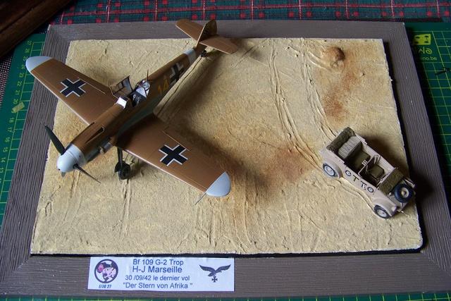 """Bf 109 G2"""" le dernier vol 30/09/1942 """"  """"der Stern von Afrika"""" Hasegawa 1/48( FINI ) - Page 3 1287010"""