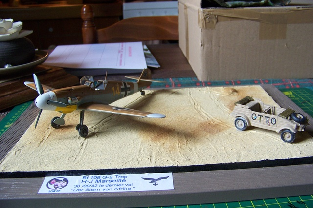 """Bf 109 G2"""" le dernier vol 30/09/1942 """"  """"der Stern von Afrika"""" Hasegawa 1/48( FINI ) - Page 3 1288010"""