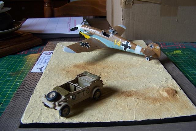 """Bf 109 G2"""" le dernier vol 30/09/1942 """"  """"der Stern von Afrika"""" Hasegawa 1/48( FINI ) - Page 3 1289010"""