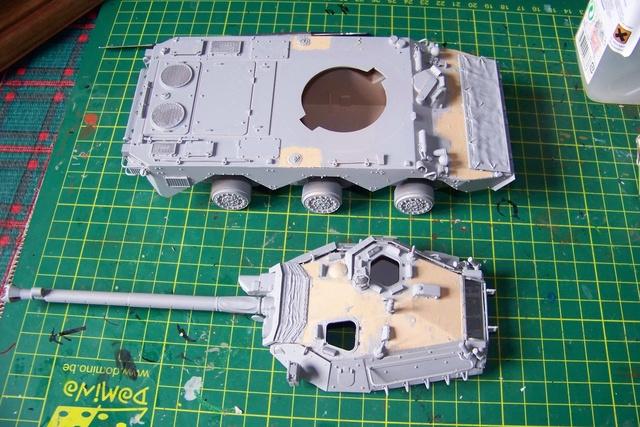 AMX 10 RC ,Direction Bagdad ! (Tiger models 1/35)Fini - Page 2 1292210