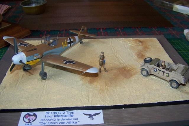 """Bf 109 G2"""" le dernier vol 30/09/1942 """"  """"der Stern von Afrika"""" Hasegawa 1/48( FINI ) - Page 3 1295510"""