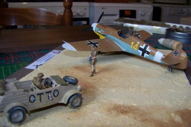 """Bf 109 G2"""" le dernier vol 30/09/1942 """"  """"der Stern von Afrika"""" Hasegawa 1/48( FINI ) - Page 3 1297510"""