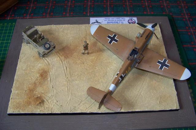 """Bf 109 G2"""" le dernier vol 30/09/1942 """"  """"der Stern von Afrika"""" Hasegawa 1/48( FINI ) - Page 3 1298510"""