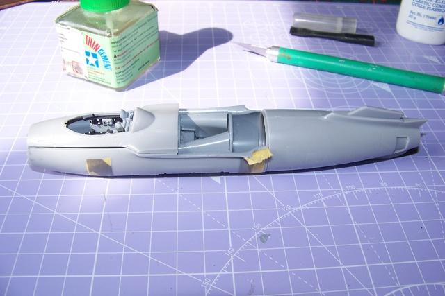 Guerre Froide 1/48 Lavochkine La-15 Fantail( Mars Models) - Page 2 1590810
