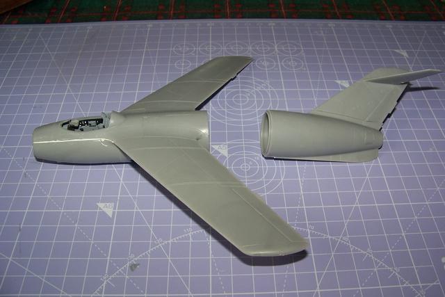 Guerre Froide 1/48 Lavochkine La-15 Fantail( Mars Models) - Page 2 1610010