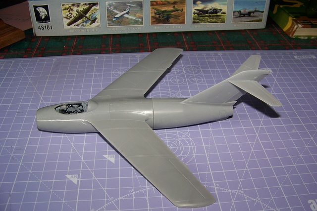 Guerre Froide 1/48 Lavochkine La-15 Fantail( Mars Models) - Page 2 1612210