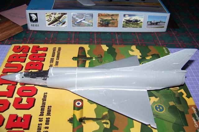 Mirage III EL 1/48 Kinetic (defi au trésorier de l' AMO61) 1615210