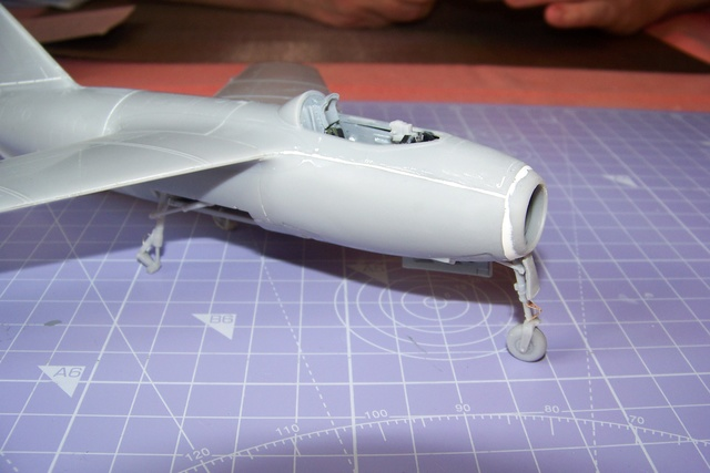 Guerre Froide 1/48 Lavochkine La-15 Fantail( Mars Models) - Page 2 1654010