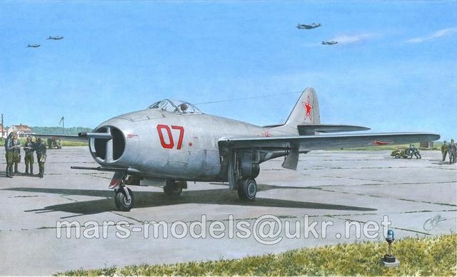 Guerre Froide 1/48 Lavochkine La-15 Fantail( Mars Models) 17016010
