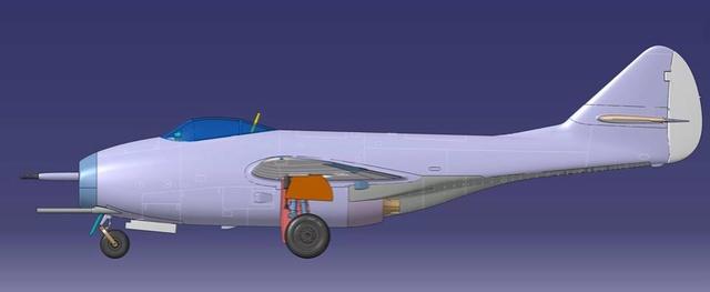 Guerre Froide 1/48 Lavochkine La-15 Fantail( Mars Models) 17629710