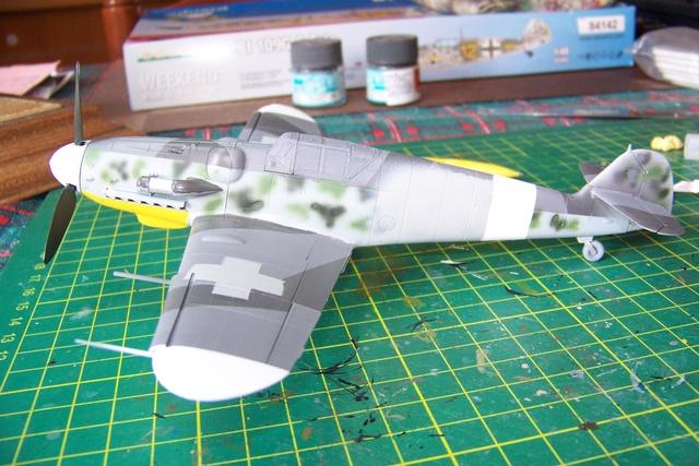 Bf 109 G-6 Erla Eduard Weekend 1/48 Reggia Aeronatica (Fini) - Page 2 898110