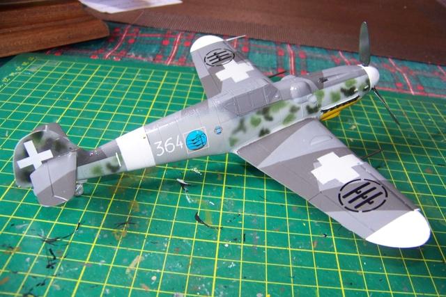 Bf 109 G-6 Erla Eduard Weekend 1/48 Reggia Aeronatica (Fini) - Page 2 908010