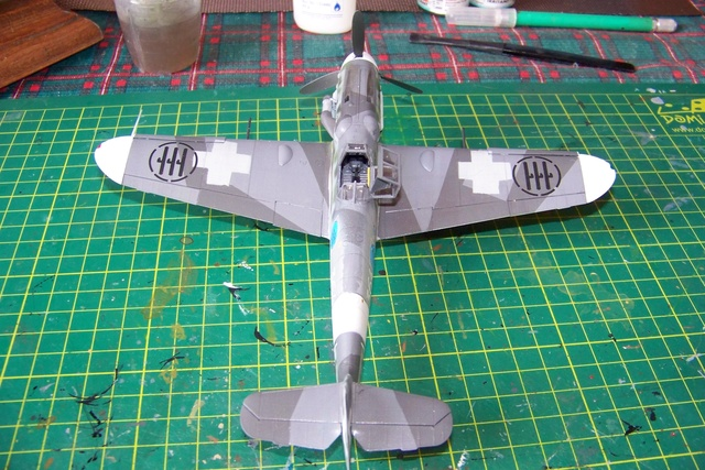 Bf 109 G-6 Erla Eduard Weekend 1/48 Reggia Aeronatica (Fini) - Page 2 914910