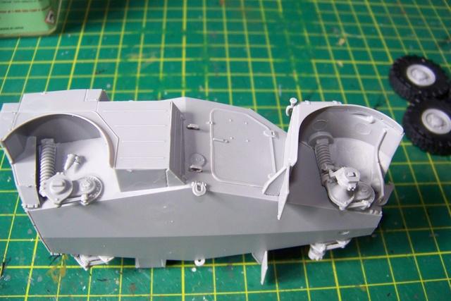 AML-60 TAKOM 1/35 ( CARENTAN) FINI 923910