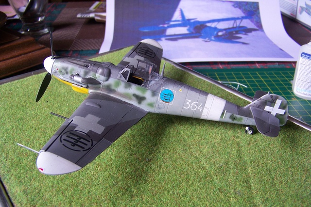 Bf 109 G-6 Erla Eduard Weekend 1/48 Reggia Aeronatica (Fini) - Page 2 944910