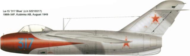 Guerre Froide 1/48 Lavochkine La-15 Fantail( Mars Models) La-1510