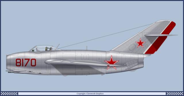 Guerre Froide 1/48 Lavochkine La-15 Fantail( Mars Models) Mig-1510