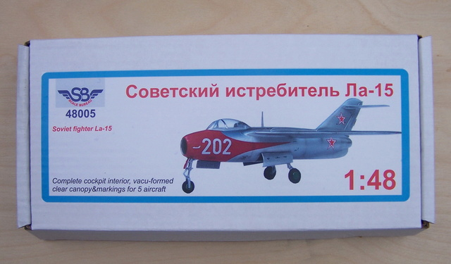 Guerre Froide 1/48 Lavochkine La-15 Fantail( Mars Models) Sb480010