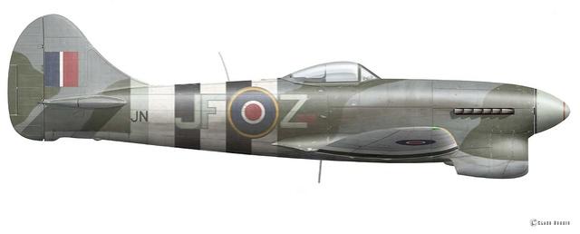Defi AMO-61 Hawker Tempest Special Hobby 1/32 Van20l10