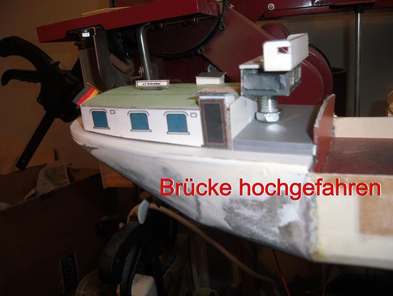 Binnenschiff BARGE / Schreiber 1:100 als RC-Modell - Seite 4 Dsci0017