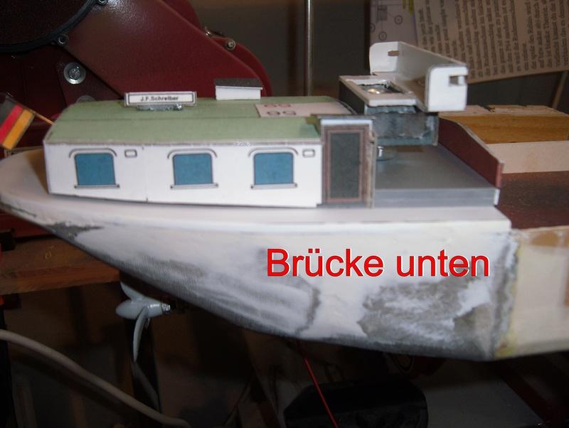Binnenschiff BARGE / Schreiber 1:100 als RC-Modell - Seite 4 Dsci0019