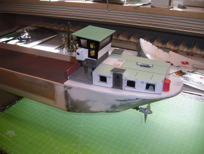Binnenschiff BARGE / Schreiber 1:100 als RC-Modell - Seite 4 Dsci0022