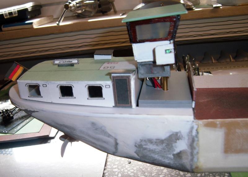 Binnenschiff BARGE / Schreiber 1:100 als RC-Modell - Seite 4 Dsci0023