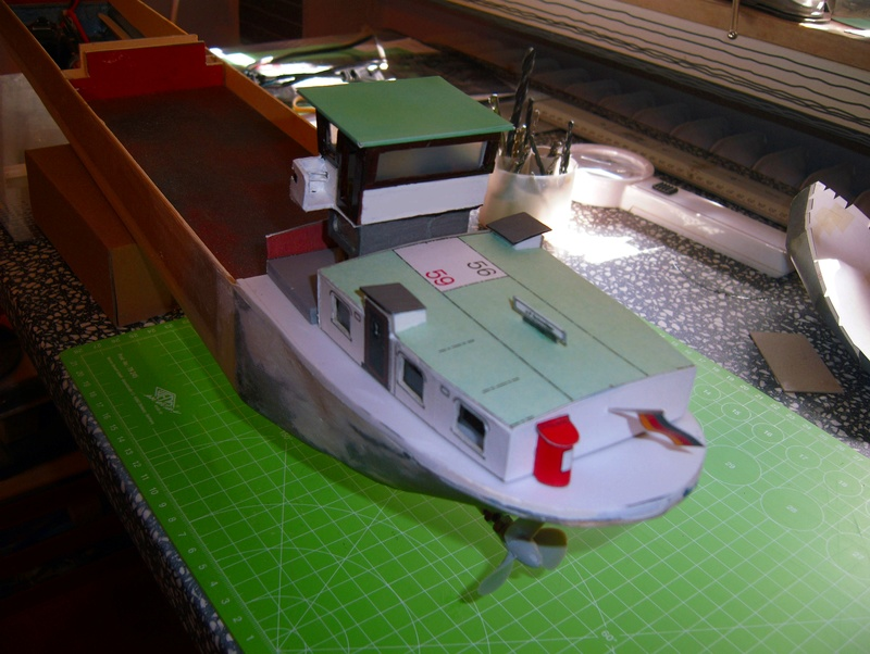 Binnenschiff BARGE / Schreiber 1:100 als RC-Modell - Seite 4 Dsci0024