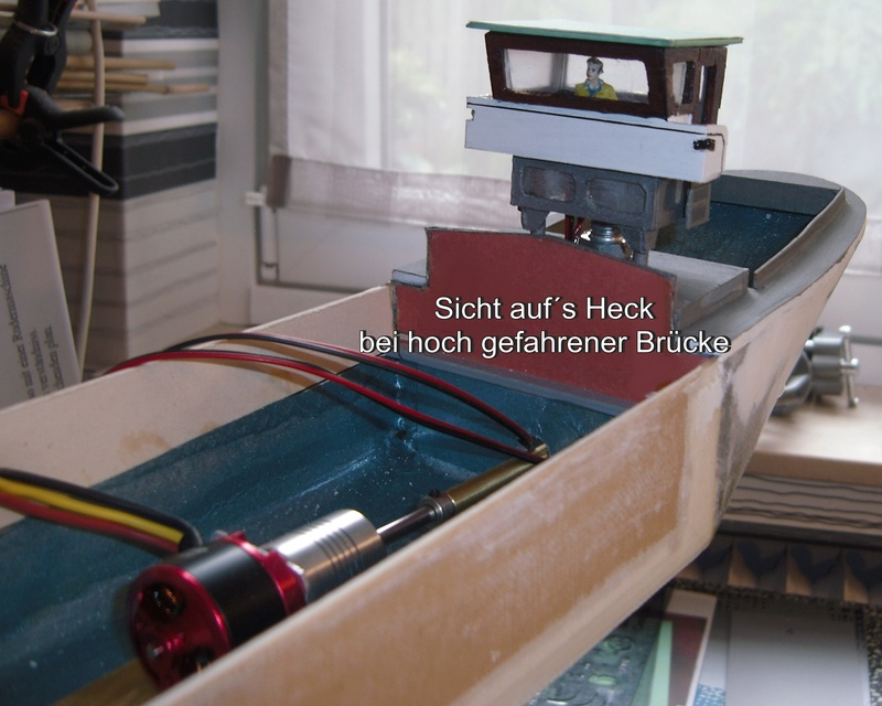 Binnenschiff BARGE / Schreiber 1:100 als RC-Modell - Seite 4 Dsci0027