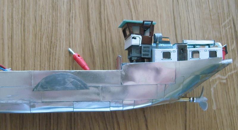 Binnenschiff BARGE / Schreiber 1:100 als RC-Modell - Seite 6 Dsci0034