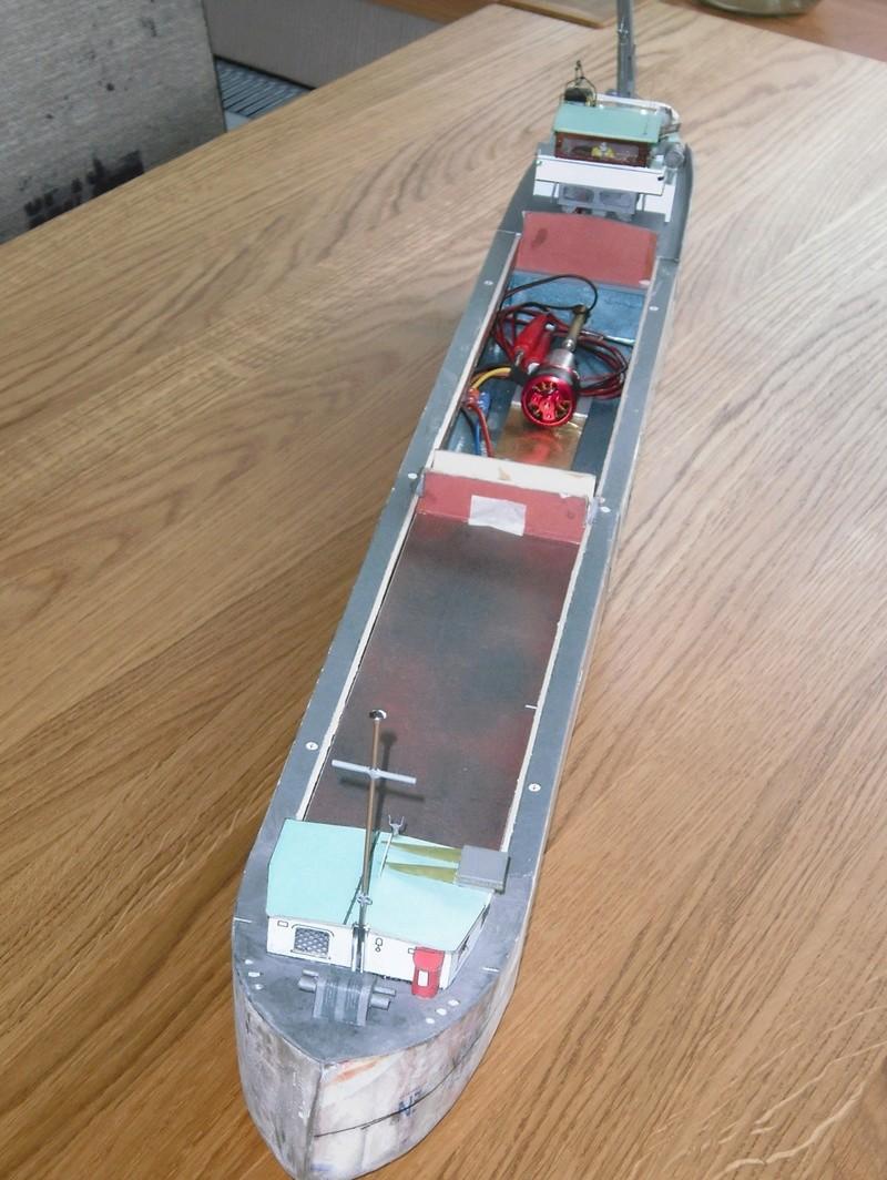 Binnenschiff BARGE / Schreiber 1:100 als RC-Modell - Seite 6 Dsci0042