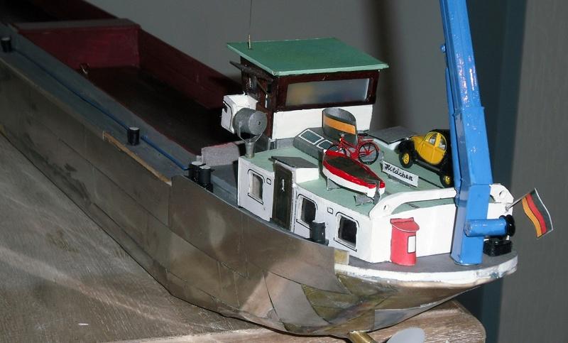 Binnenschiff BARGE / Schreiber 1:100 als RC-Modell - Seite 6 Dsci0052