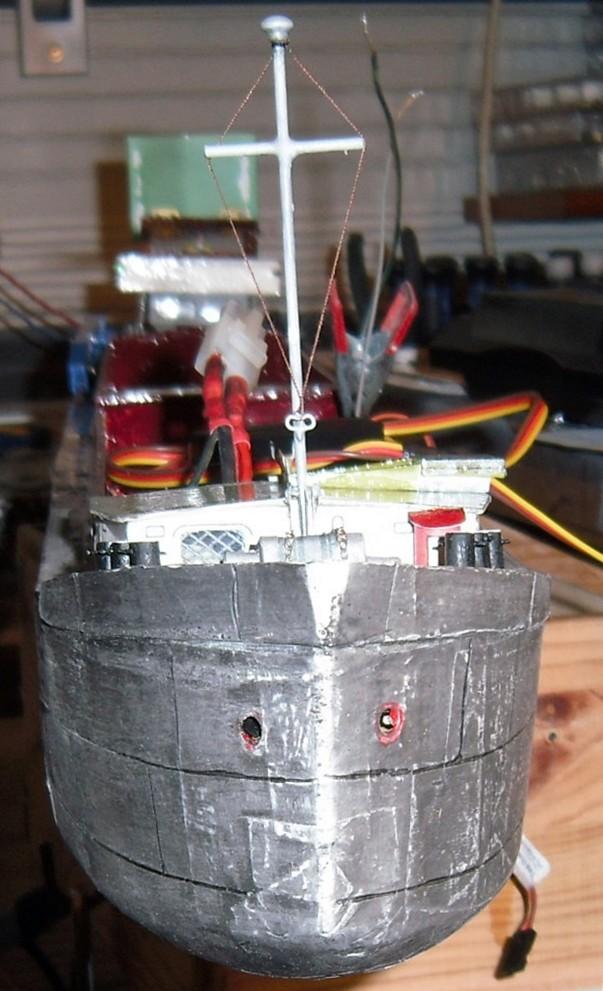 Binnenschiff BARGE / Schreiber 1:100 als RC-Modell - Seite 9 Dsci0073