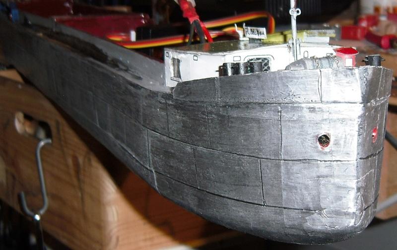 Binnenschiff BARGE / Schreiber 1:100 als RC-Modell - Seite 9 Dsci0076