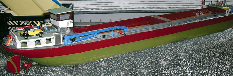 Binnenschiff BARGE / Schreiber 1:100 als RC-Modell - Seite 10 Dsci0097