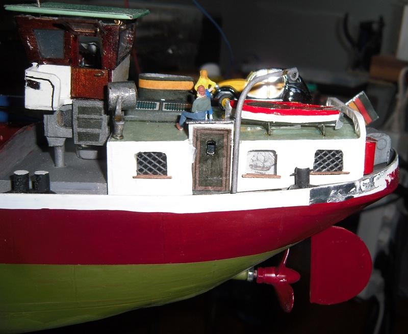 Binnenschiff BARGE / Schreiber 1:100 als RC-Modell - Seite 11 Dsci0102