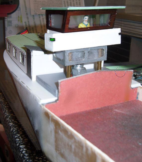 Binnenschiff BARGE / Schreiber 1:100 als RC-Modell - Seite 4 Unbena10