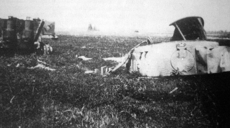 Les stèles de Michael Wittmann et de son équipage Tiger-10
