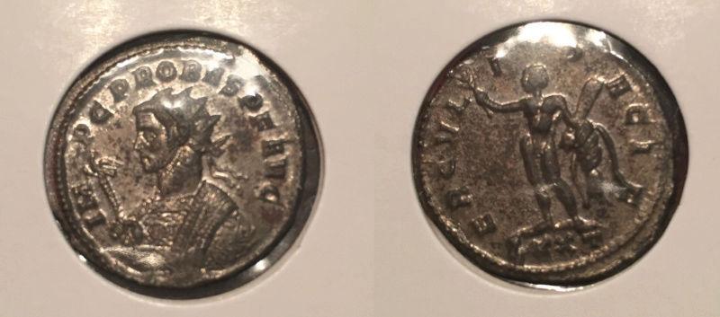 Monnaies à identifier (Tetricus, Probus, Gallien...) Probus10