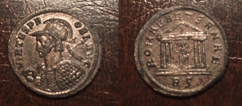Monnaies à identifier (Tetricus, Probus, Gallien...) Probus11