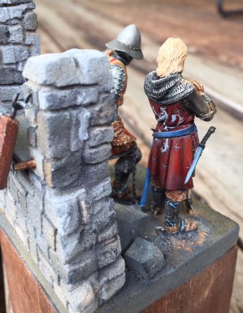 chevalier Amaury VI de Montfort et alain de courcy Fullsi16