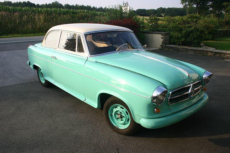 Borgward Isabella 1961 - auf dem Parkplatz schnappgeschossen 116