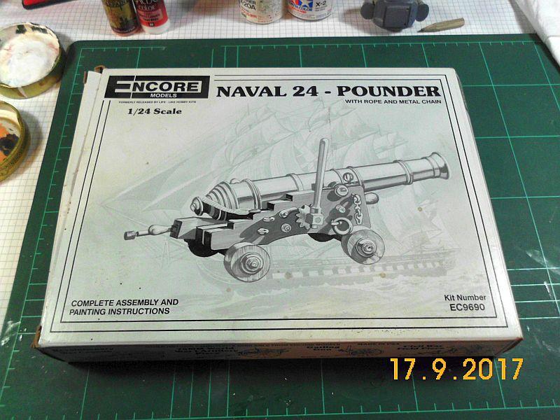 Naval 24 Pounder / Encore, 1:24 139